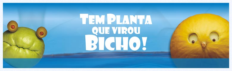 Livro infantil Tem Planta que virou Bicho!