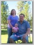 John, Angie and little Megan