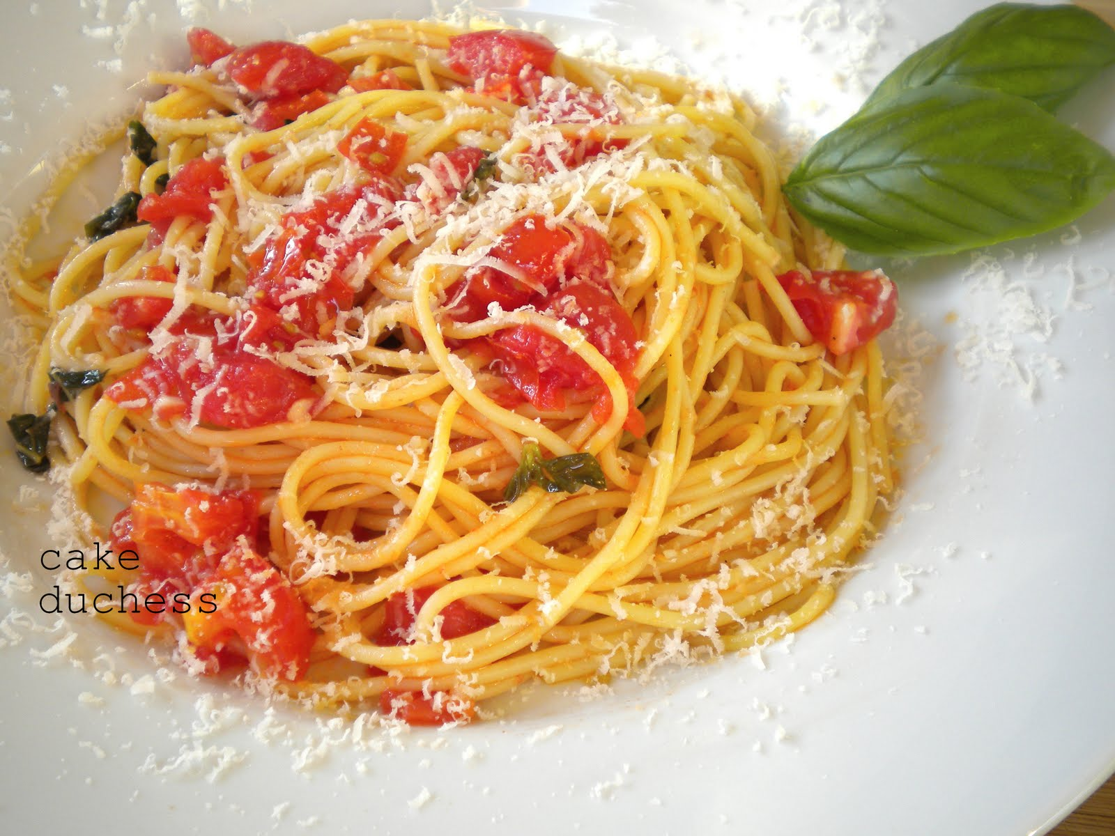 Pasta Al Pomodoro Recipes — Dishmaps