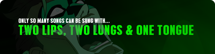 Two lips, two lungs & one tongue