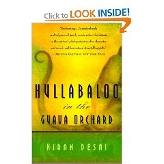 'hullabaloo in the guava orchard' social Hullabaloo chapter summary  at the top of the hill he sees the guava orchard, and climbs, feeling peaceful and content  talk of social status.