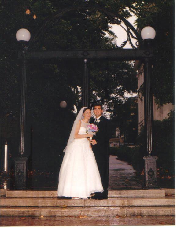 redneck wedding arch
