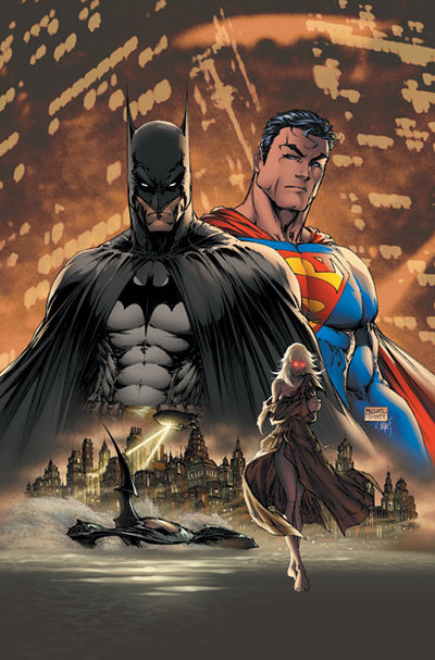 Michael Turner, Batman, superman
