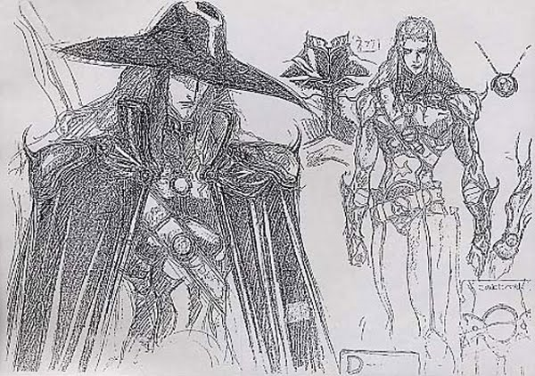 The Line Art And Living : Living lines library vampire hunter d bloodlust