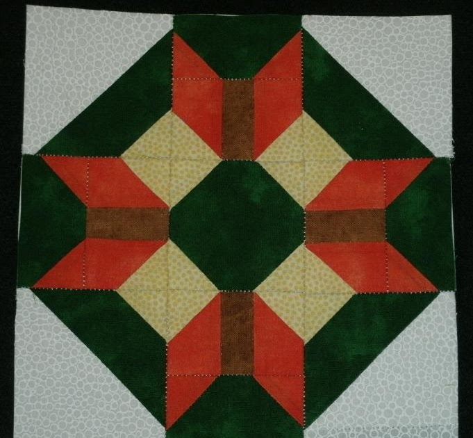 Quilt Patterns On Wisconsin Barns : Kim s Northwoods Discoveries: Wisconsin Star - Wisconsin Quilt Blocks on Barns, Block of the Week
