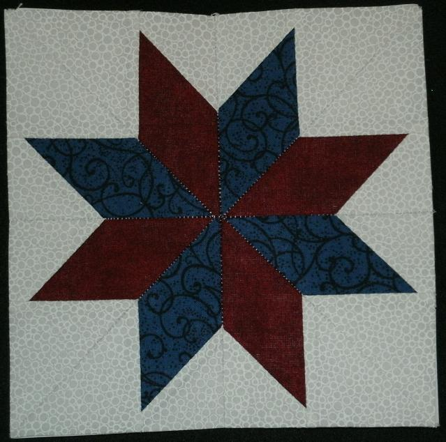 ... : Lemoyne Star - Wisconsin Quilt Blocks on Barns, Block of the Week