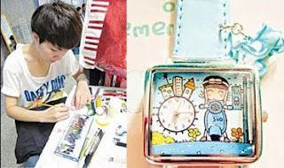 'นาฬิกาไอเดียศิลป์' ถักๆ เพนท์ๆ เป็นเงินงาม
