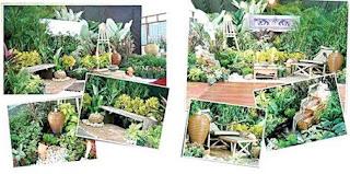 รับจัดสวนรำลึก ทำเงินต่อยอดงานจัดสวน