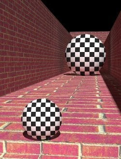 black and white size ball illusion