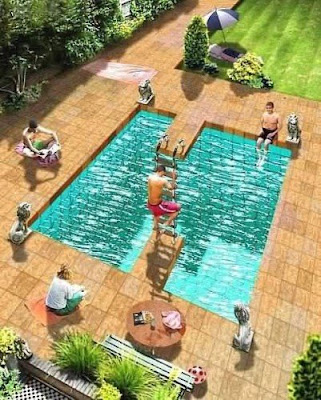 Swimming Pool Illusion