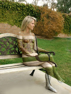 Body Paint Photos - Body Art Painting Gallery