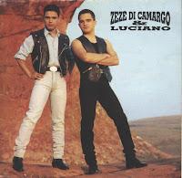 Capa do CD Zezé di camargo e Luciano - Os Grandes Sucessos 1995