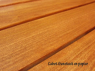 how to stain pine to look like golden oak