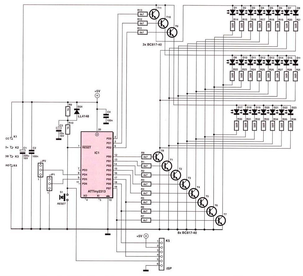 схемы с LED - Практическая схемотехника.