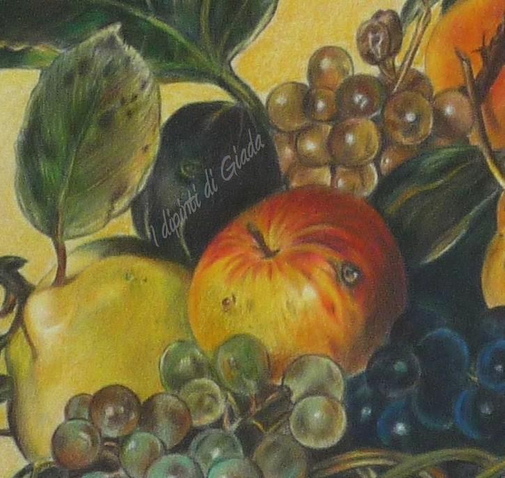 I Dipinti Di Giada Canestra Di Frutta Riproduzione Da Caravaggio