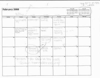 work journal template