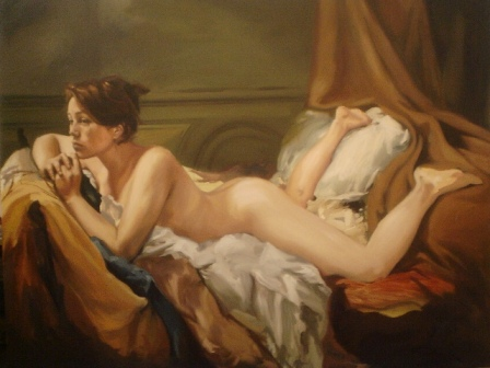 """""""Desnudo en reposo"""""""