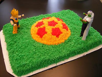 One Sweet Hobby Dragon Ball Z Cake