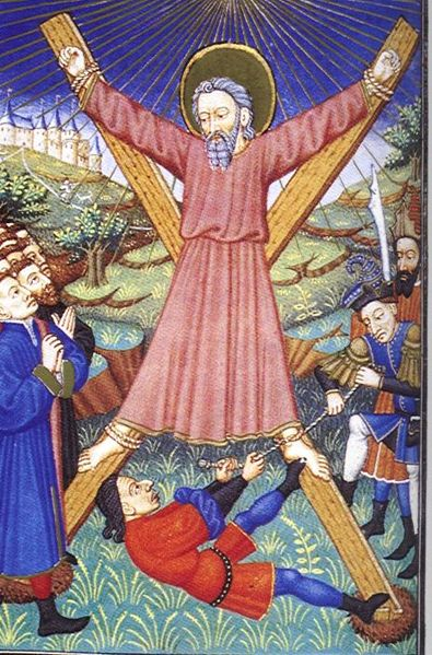 St. Andrew the First called dans immagini sacre 395px-Martyrdom_of_andrew