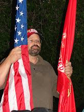 Pat with Flags