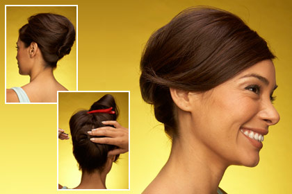lovely easy updo hairstyles