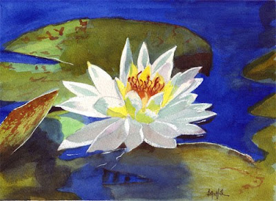 to paint a water lily essay