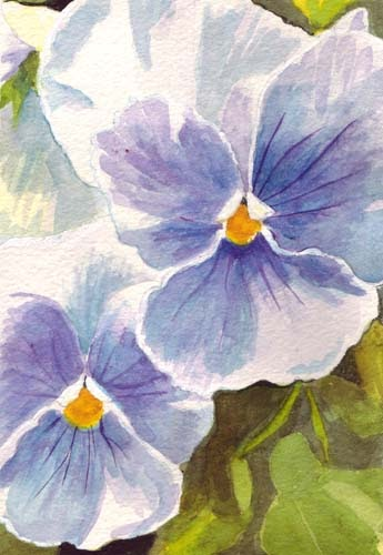 Flower Art Painting Abstract