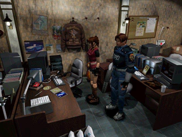 [Análise] Resident Evil 2 (Playstation One) Resident-evil-2-stars-office-screenshot-big