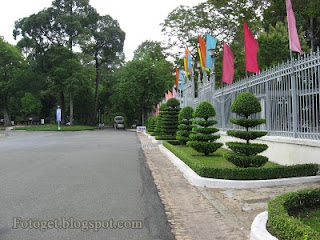 Independence Palace or Reunification Palace Saigon