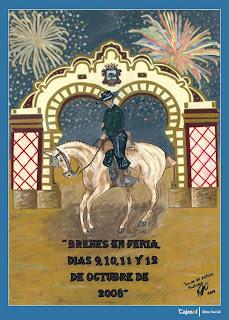 Cartel Feria de Brenes 2008