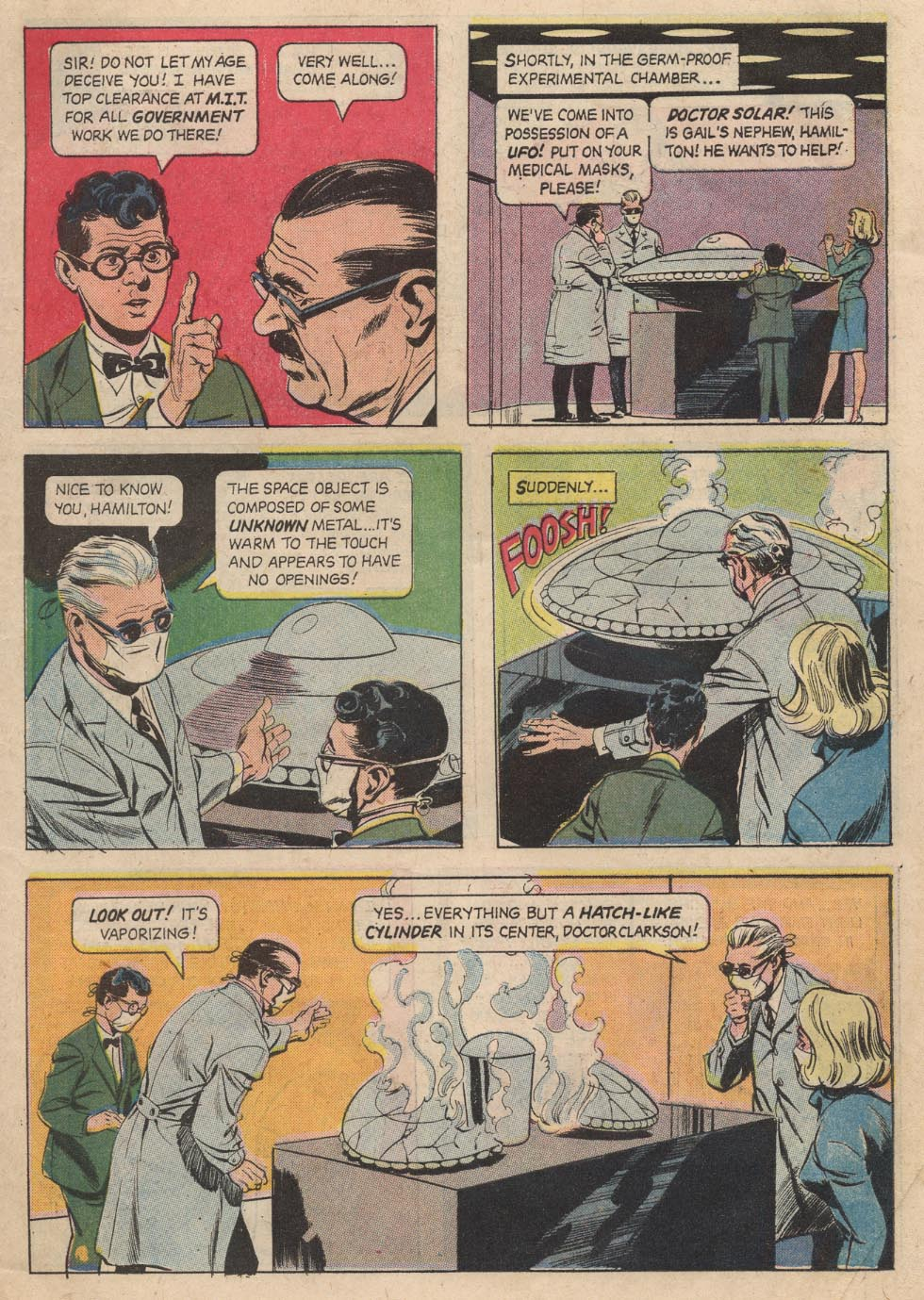 Doctor Solar, Man of the Atom (1962) 21 Page 6