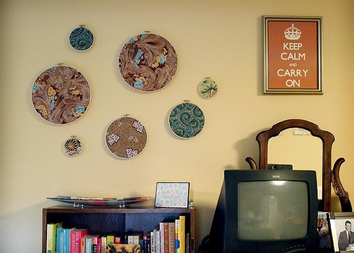 Fraske designs decorating walls with fabric for Decorating walls with fabric ideas