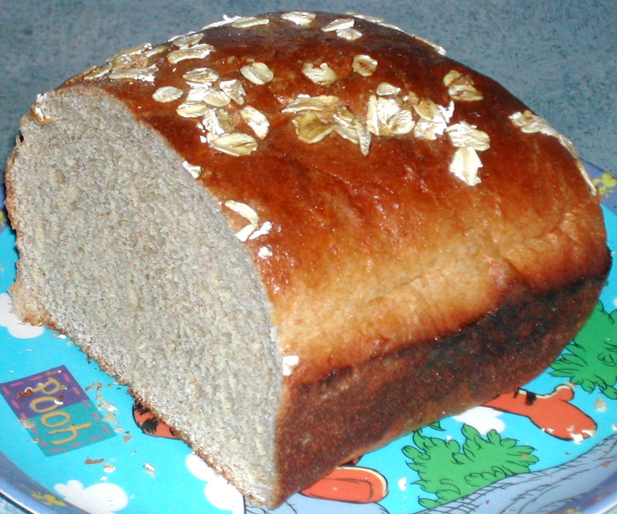 Fantastical Food: Oatmeal Wheat Bread