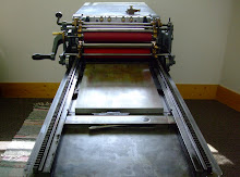Our Vandercook #3 Letterpress