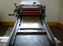 Our Vandercook #3 Letterpress