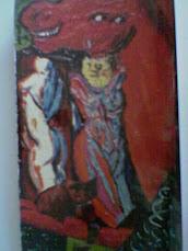 nudino con cavallo rosso periodo surreale