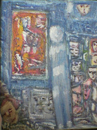 al museo olio su tela