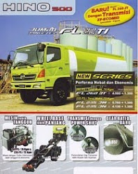 JUAL HINO FL 500 SERIES (model 6x2, New)