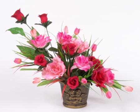 Aficiones flores - Como hacer un ramo de flores artificiales ...