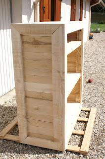 Fabriquer un meuble en bois de palette - Fabriquer meuble en palette ...
