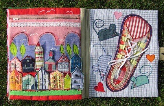 Книга из ткани своими руками