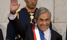 poco antes de jurar su cargo como Presidente de Chile