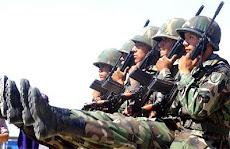 el paso de ganso o paso de parada fue la presentación de los soldados