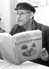 el libro de filemón escóbar está siendo leído intensamente luego de su lanzamiento