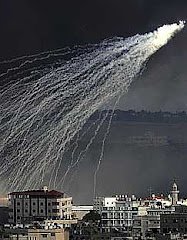 espeluznante espectáculo de aparatos judíos que lanzan racimos