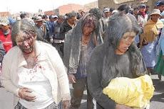 desgarradoras imágenes de un lincharamiento en Achacachi que se repite en Uncía