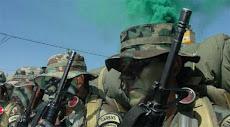 carapintadas que pertenecen a tropas contra el crimen y la droga