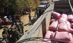 se puede observar el camión que lleva coca (llamada chanchito) para fabricar cocaína