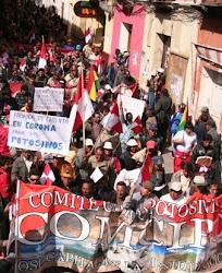 """cien mil potosinos salieron a las calles para gritar """"Potosí Federal"""""""