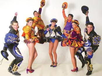 """""""los caporales"""" se han hecho famosos. decenas de años bailando con entusiasmo."""